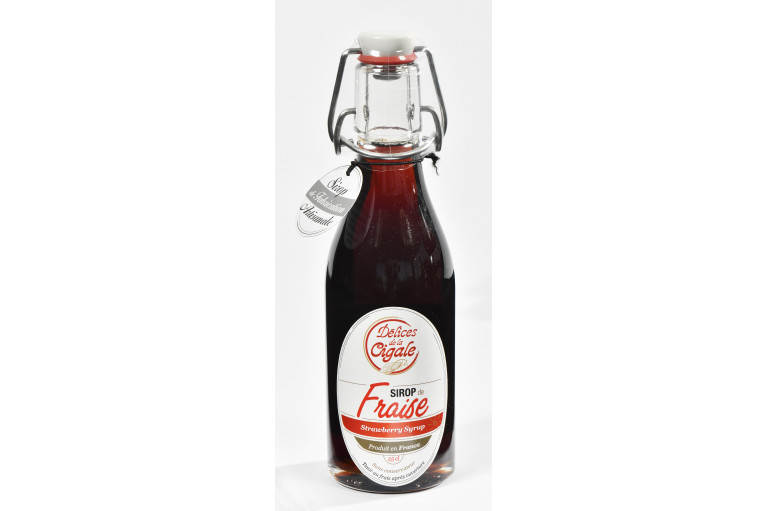 strawberry Syrup 25cl