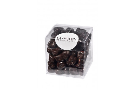 Lime nuggets and chocolate black 150g
