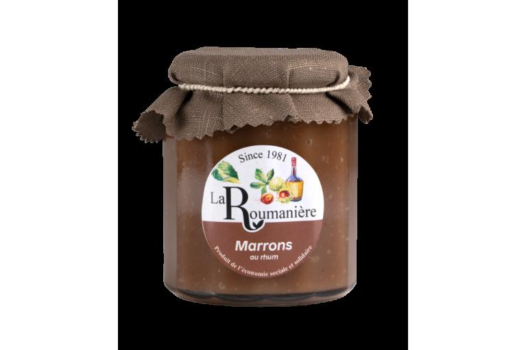 chestnut Jam with Rum 335g
