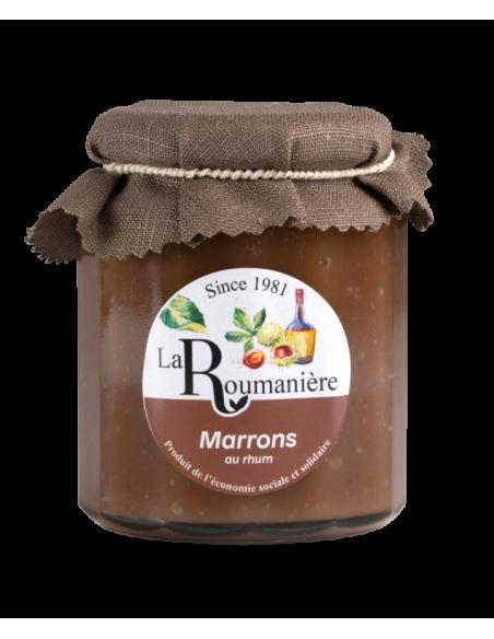 Confiture de Marrons au Rhum 335g