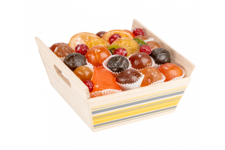 Assortiment fruits confits La Vigneronne 700 g
