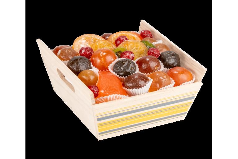 Assortiment fruits confits La Vigneronne 700g