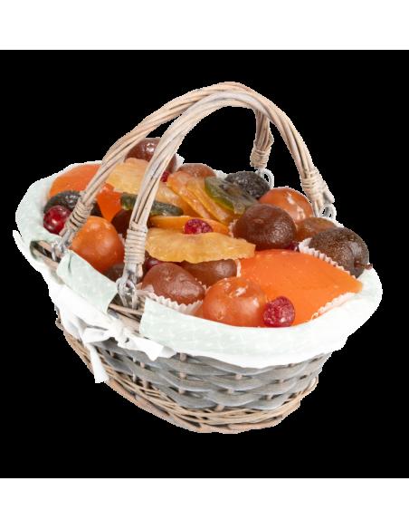 Assortiment fruits confits La Paysanne 900 g