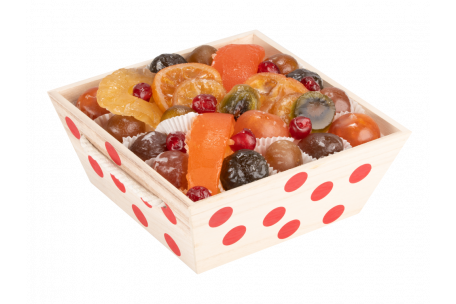 Assortiment fruits confits La Coccinelle 1000 g