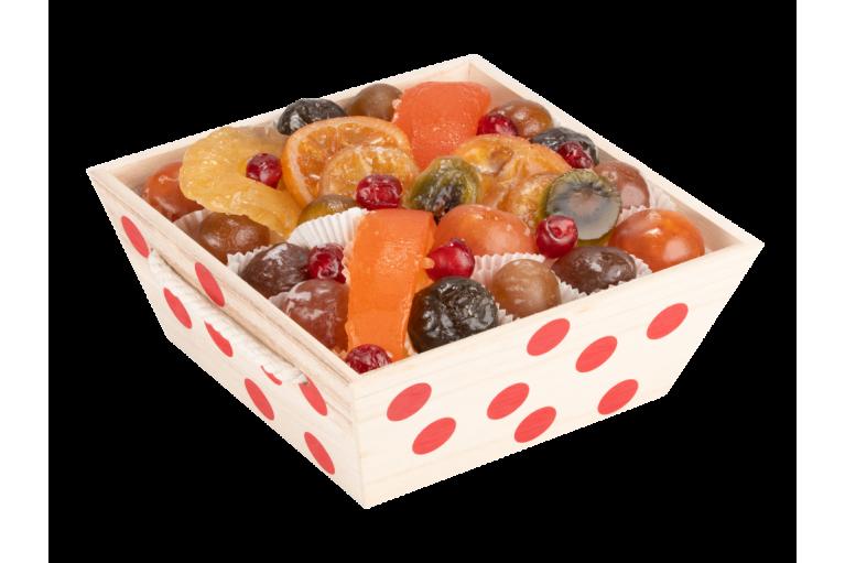Assortiment fruits confits La Coccinelle 1000g