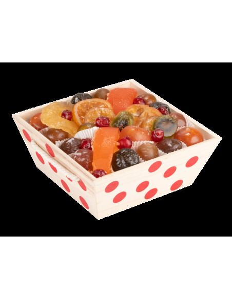 Assortiment fruits confits La Coccinelle 1000 g