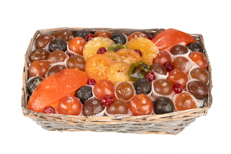 Candied Fruit Champêtre Basket 1900 g