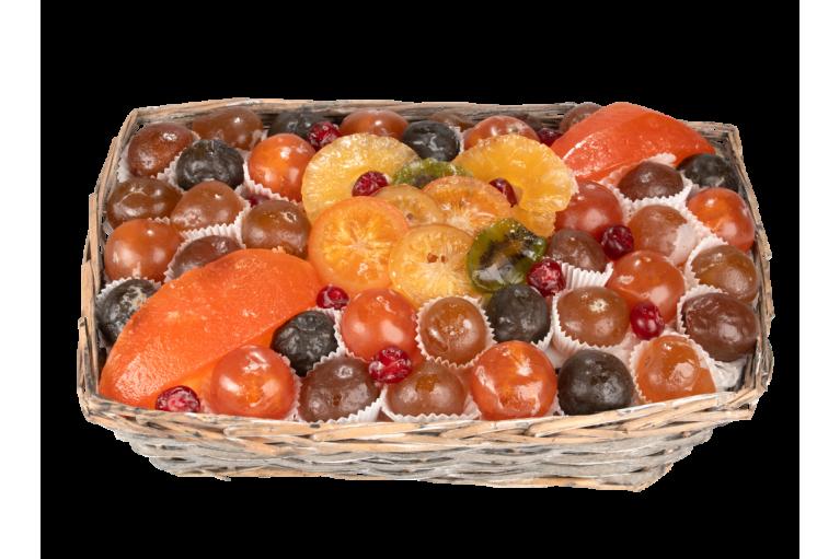 Assortiment fruits confits La Champêtre 1900 g