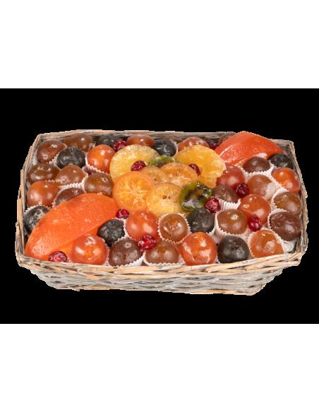 Candied Fruit Champêtre Basket 1900 g