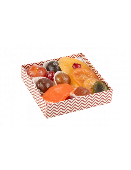 Assortiment fruits confits La Rêveuse 350g