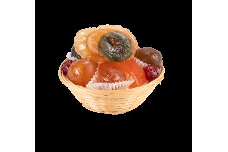 Assortiment fruits confits La Paille 250 g