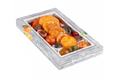 Assortiment fruits confits Mon petit Verger 600 g
