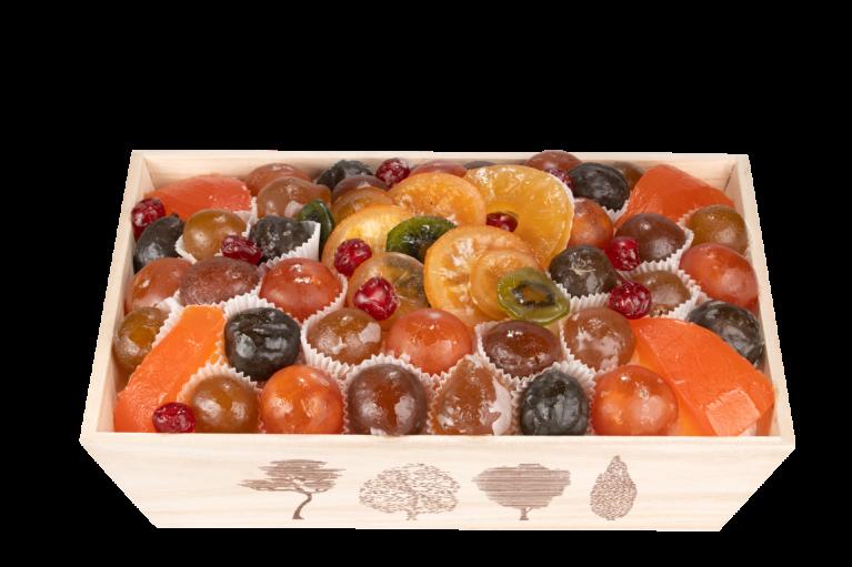 Assortiment fruits confits Le Prestige