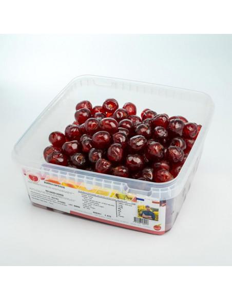 Cerises Bigarreaux rouges aux colorants naturels 1 kg