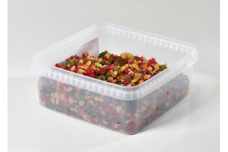 Candied Mixed Fruit Cubes 1 Kg