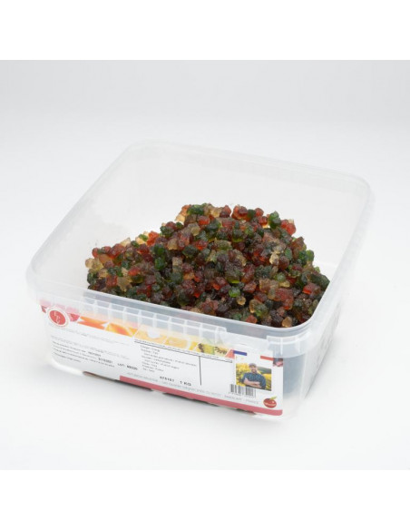 Cubes de melons confits 1 kg