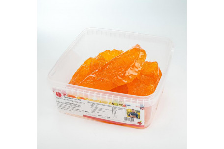 Candied Yellow Melon Slices 1 Kg
