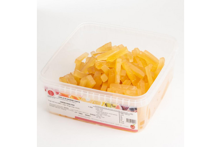 Candied Ginger Strips 1KG