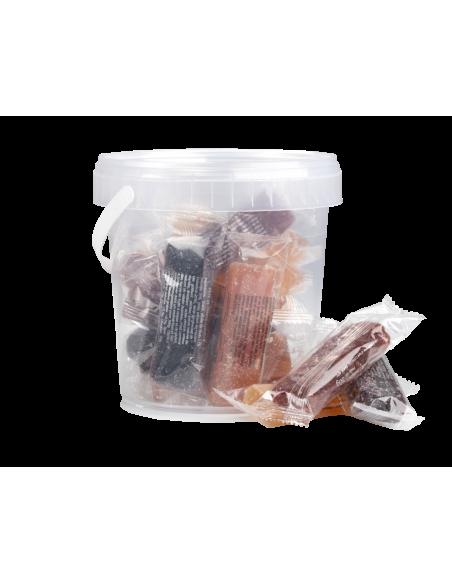 Bucket of Sugar Coated Fruit Jellies 480g