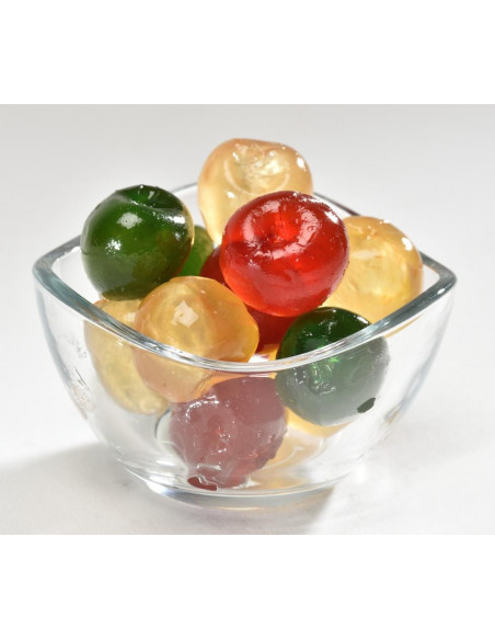 "Candied ""tricoloured"" Cherries 1 Kg"