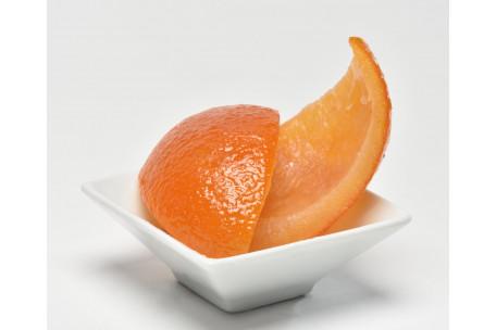 Ecorces d'oranges 1/4 confites 4 kg