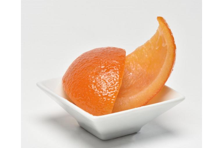 Candied Orange Peels in Quarters 1kg