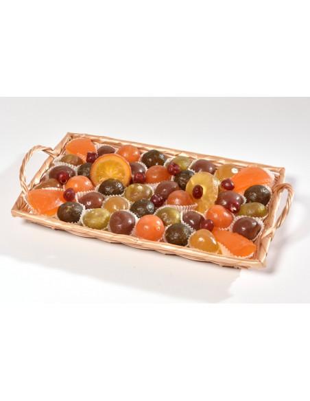 Assortiment fruits confits La Claparède 1500 g