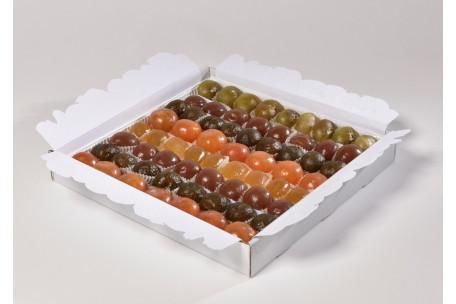Plateau Confiseur de Fruits confits glacés Assortis 2500 g