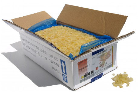 Cubes of lemon peel candied 5 kg