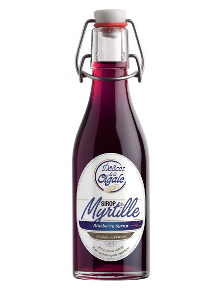 Blueberry Syrup 25cl