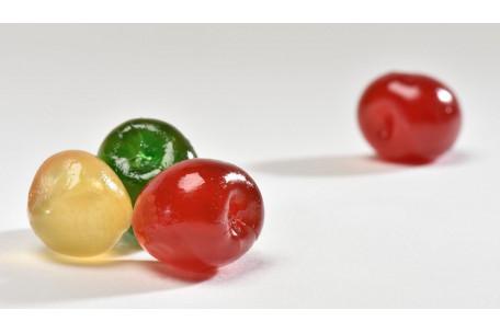 Cerises Bigarreaux tricolores confites carton 5 kg