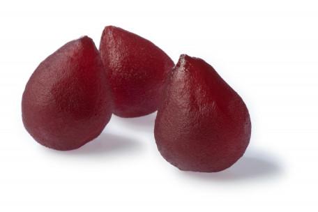 Poires rouges confites 2 Kg ou 4 Kg