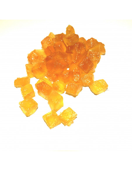 Cubes of yellow melons (6mm) 10 kg