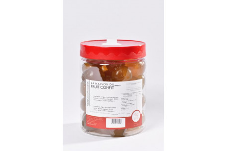Candied White Figs in a jar 1 Kg