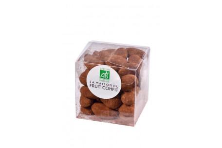Amandes au chocolat noir bio 120g